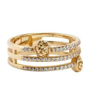 Кольцо золотое изысканное Флоренс — фото, ювелирный каталог ♕РОДИННІ КОШТОВНОСТІ™♕